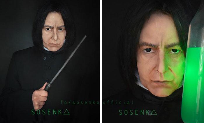 Severus Snape, Harry Potter