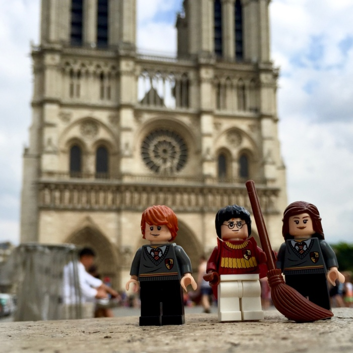 Lego Potter Trio Vacations Around The World