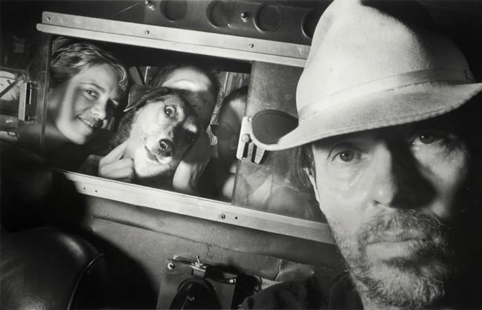 Este taxista pasó 20 años fotografiando a sus pasajeros en Nueva York, comenzó en 1980