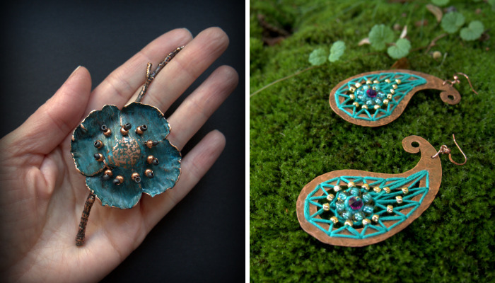 My Copper Jewelry Is Made To Emphasize Your Individual Identity