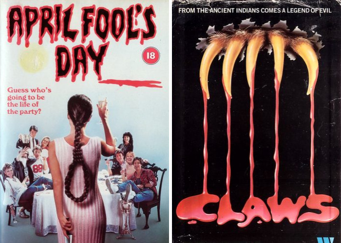 These Vhs Horror Movie Covers Will Make Fans Travel In Time