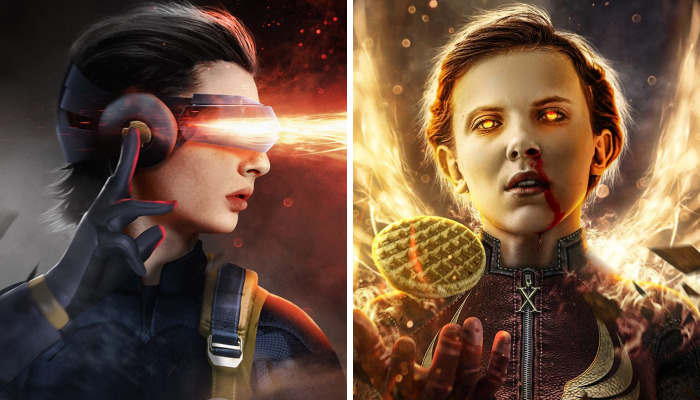 Stranger Things Characters Transformed Into X-Men