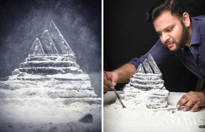 I Used Very Basic Materials To Create Dramatic Dioramas Of Famous Logos
