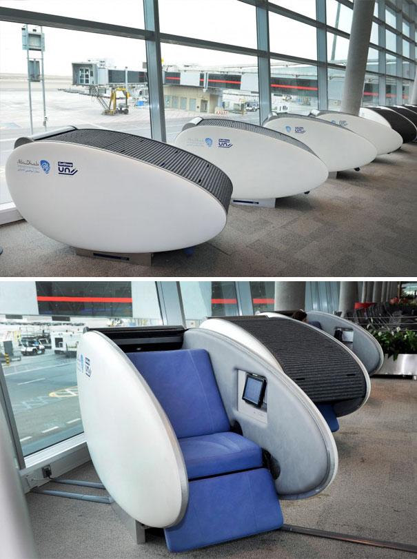 Gosleep Sleeping Pods At Abu Dhabi International Airport
