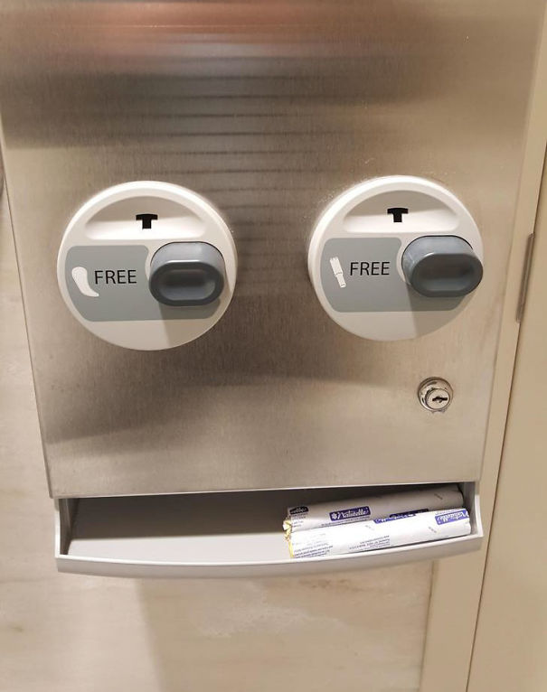 Free Tampons And Pads At Columbus, OH Airport