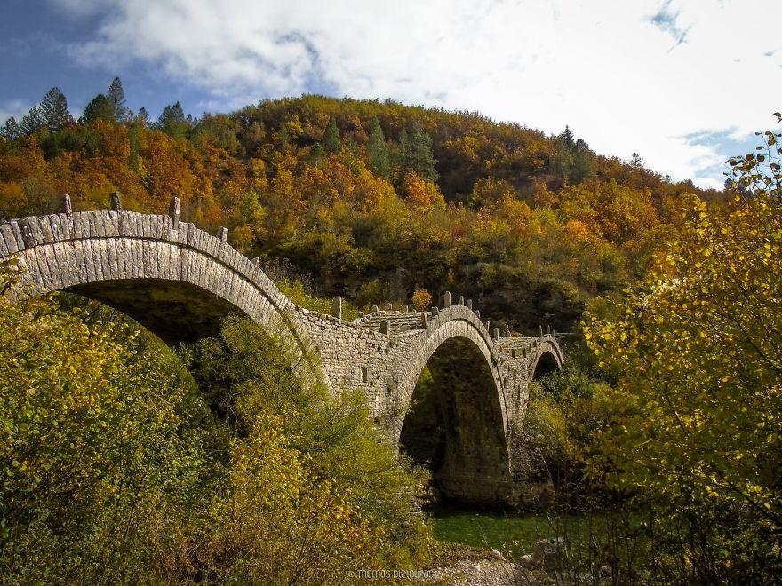 Γέφυρα Καλογερικού, Ιωάννινα. Χτισμένο το 1814