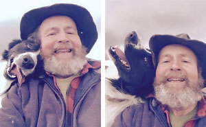 Daughter Teaches Dad How To Selfie, Doesn't Expect Him To Become Internet Sensation