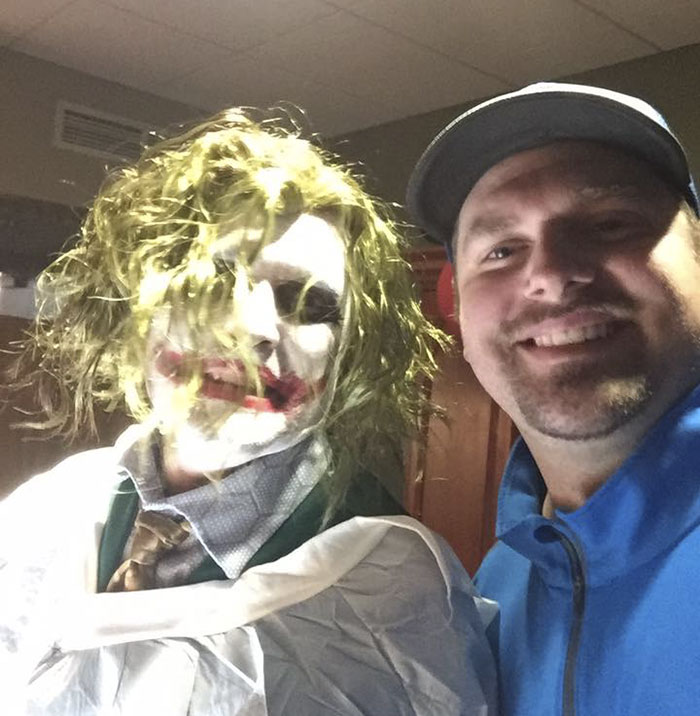This Doctor Delivered A Baby On Halloween Dressed Up As The Joker