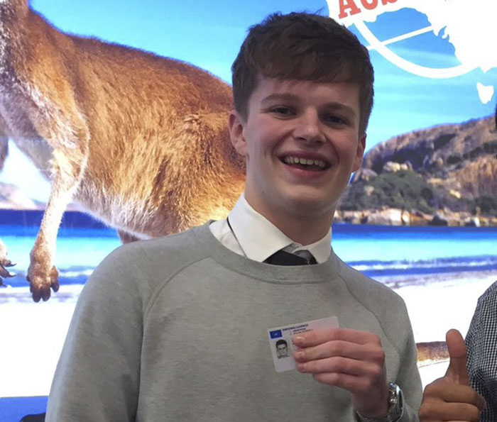 """""""So I Was Pretty Drunk The Other Night And I Lost My ID, Then This Turns Up Today..."""""""