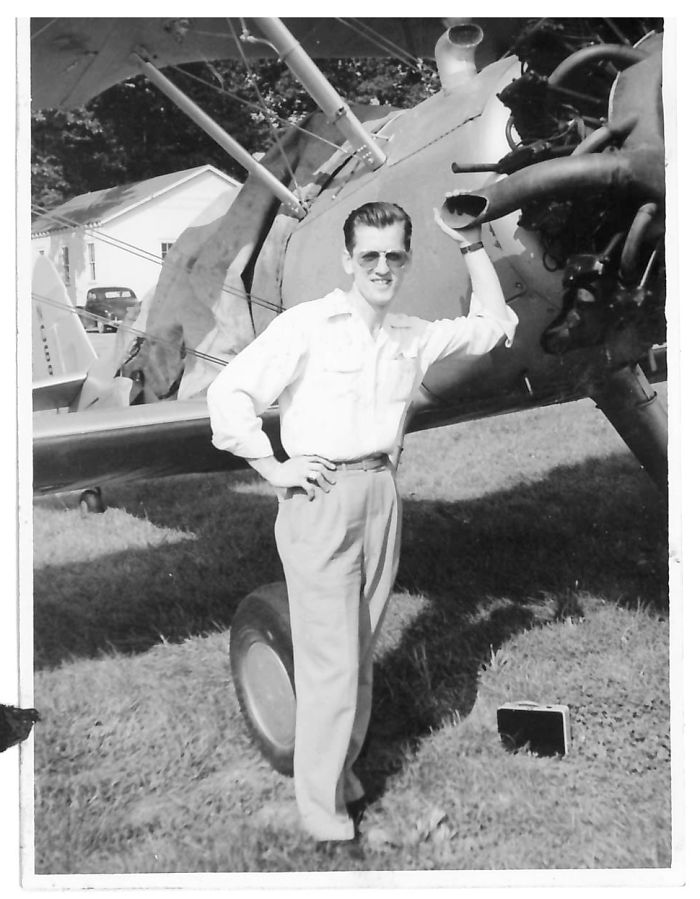 My Dzaidzi (Polish For Grandpa) Loved Planes, He Flew Gliders In Ww2 And Was The Sweetest Man You Could Imagine.