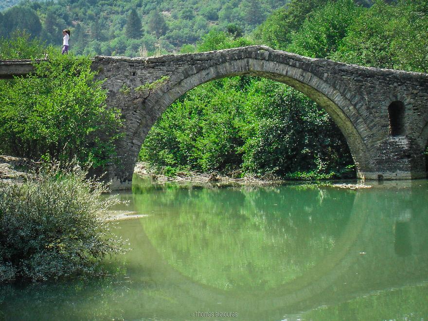 Γέφυρα Κατσογιάννη, Γρεβενά. Χτισμένο γύρω στο 1800