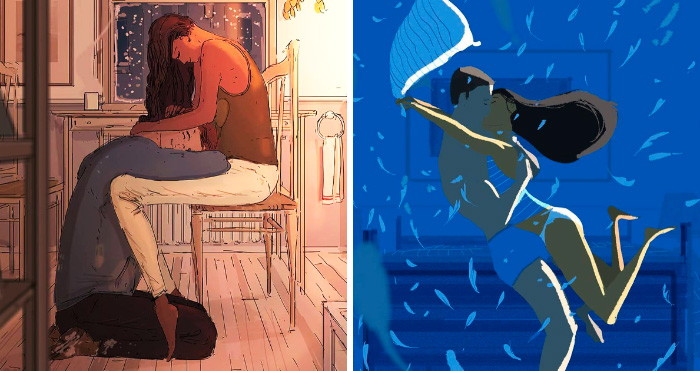 Husband Illustrates Everyday Life With His Wife, Proves Love Is In The Little Things