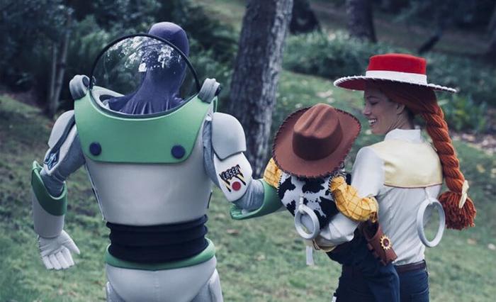 Justin Timberlake y Jessica Biel se hicieron los mejores disfraces en familia para Halloween