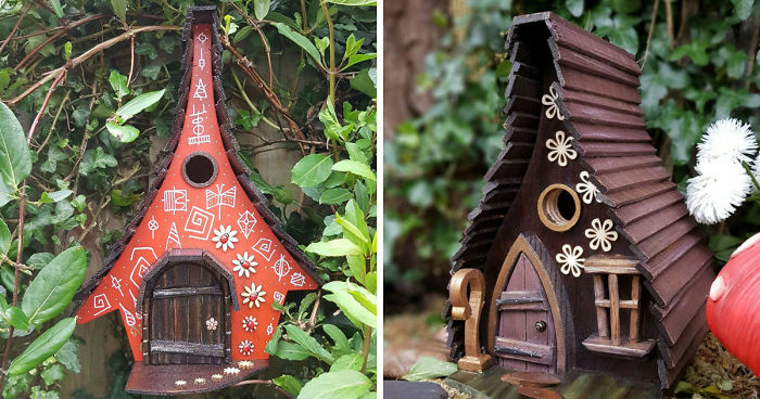 I Build Fairytale-Like Birdhouses For The Tiny Creatures That Live ...
