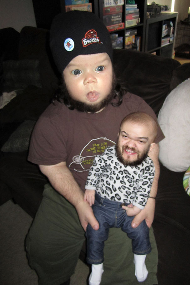 Face Swapped My Daughter And Our Friend, Sam. The Results Were Better Than Expected