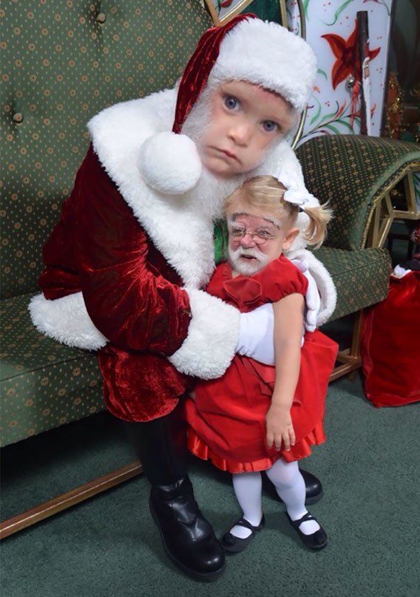 Face Swapped My Cousin's Santa Pics. Was Not Disappointed