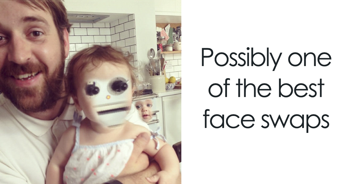 Times People Tried Face Swap On A Baby And Regretted It Immediately Bored Panda