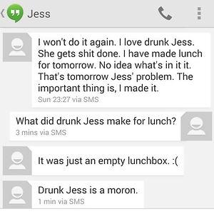 Drunk Jess