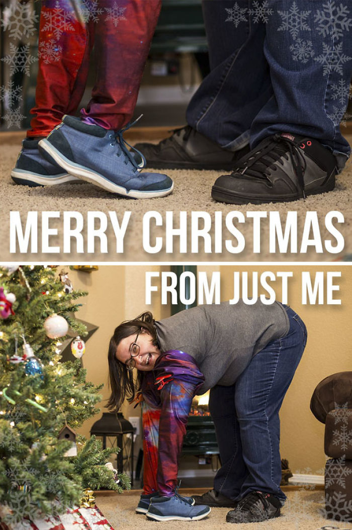 My Christmas Card This Year. I've Been Single My Whole Life