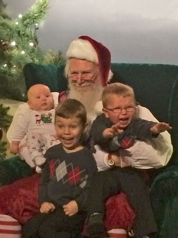 Wife Called To Let Me Know That She Took The Perfect Christmas Card Photo