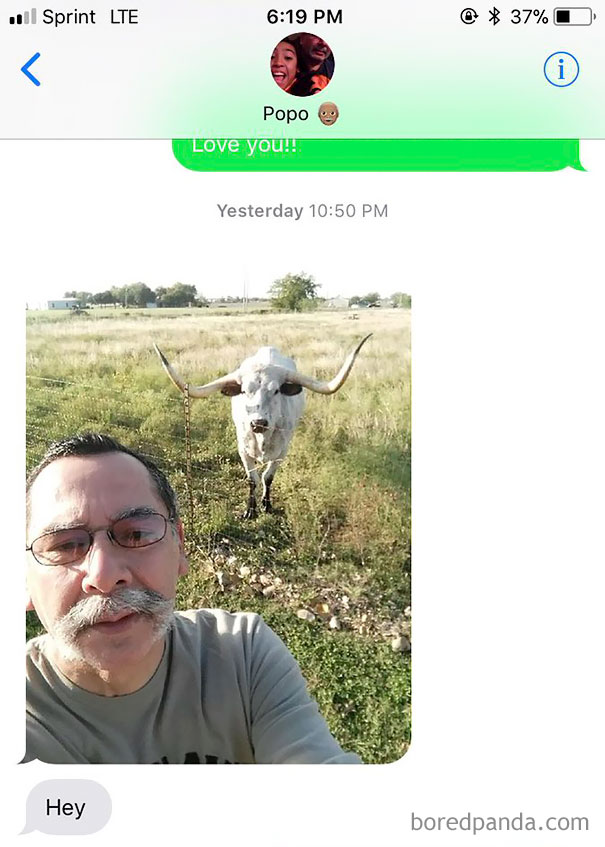 I Rarely Get Text Messages From My Grandpa, But When I Do, It's Never Disappointing