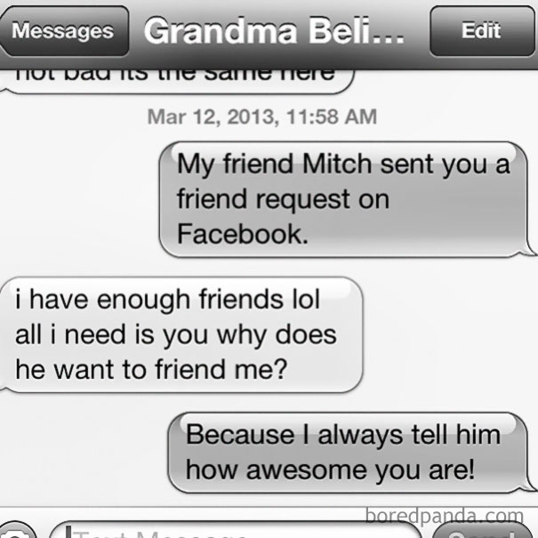 My Grandmother Is Perfect
