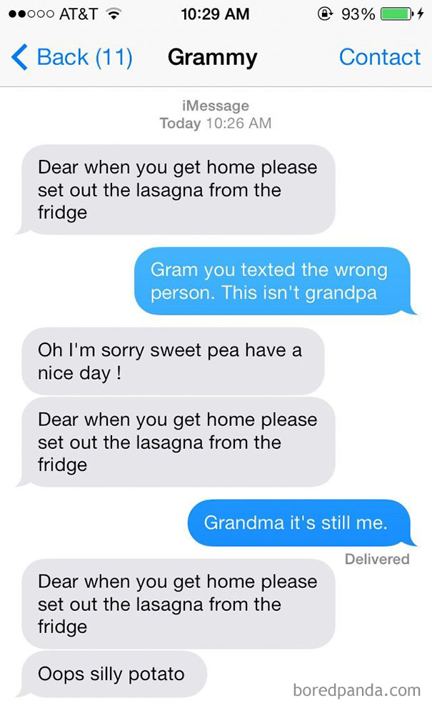 146 Times Grandparents Texts Made Everyone Die From Laughter ...