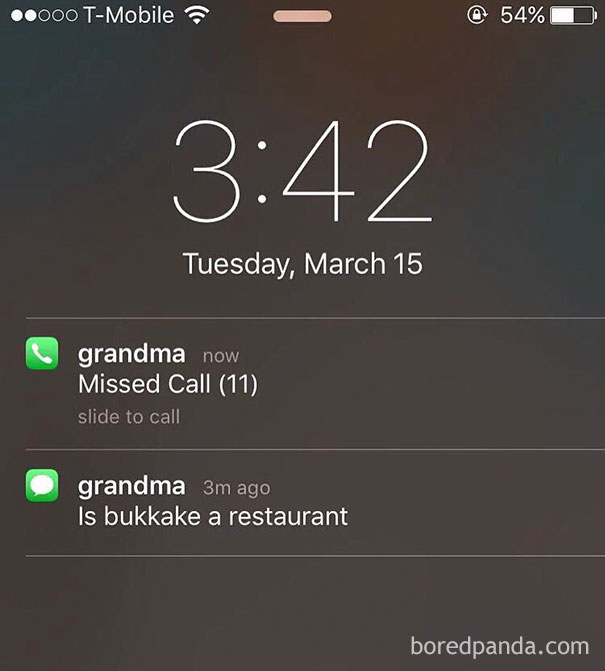 Typical Grandma