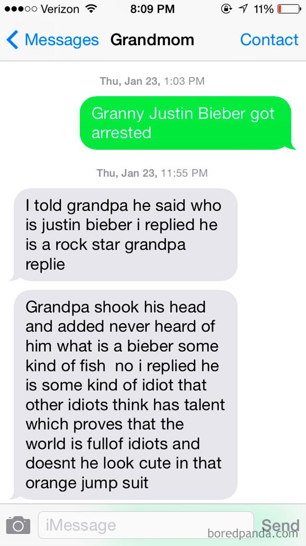 Educating Grandma About Pop Culture