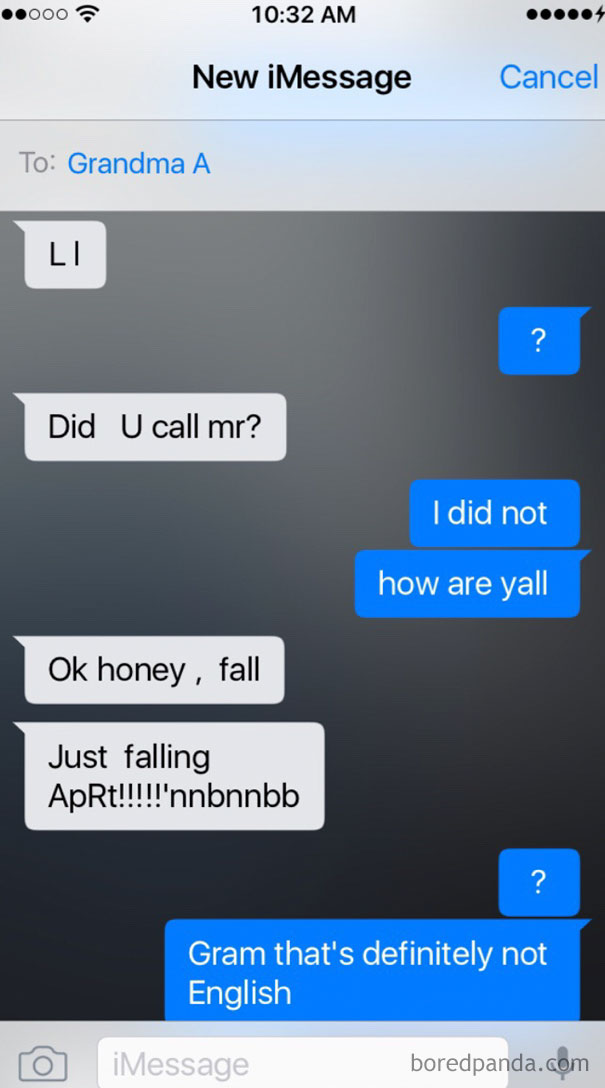 My Brother Sent Me This Conversation He Had With Our Grandma