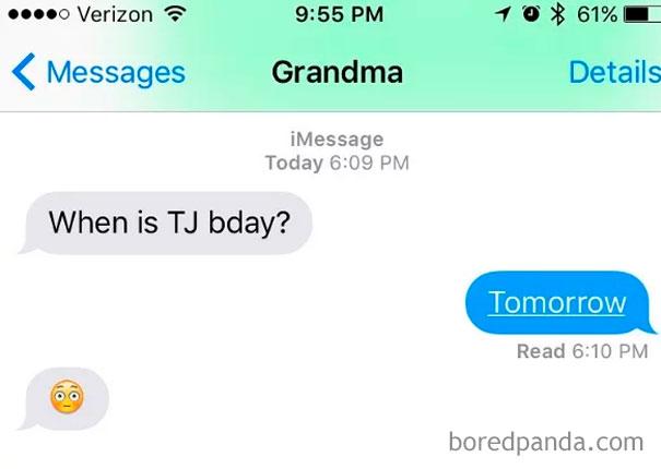This Grandma Knows Emoji