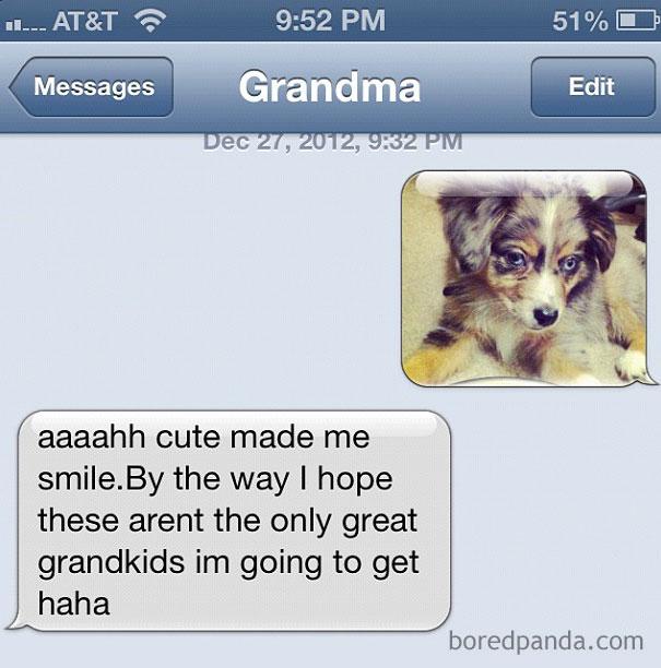 She Is Still Expecting Grandchildren