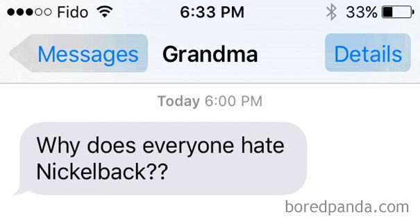 My Grandma Is Literally My Most Favourite Person. Partly Due To Texts Like This