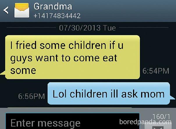 Text From Boyfriends Grandma