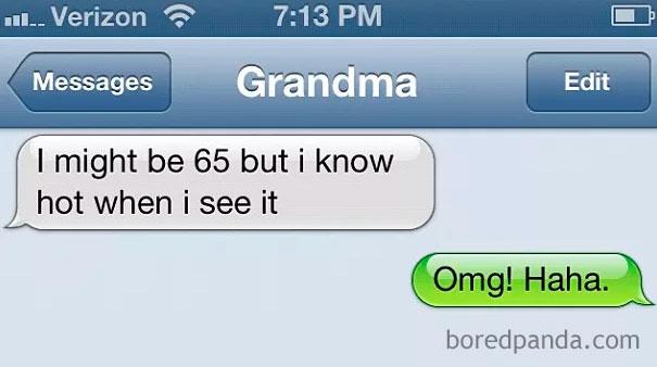 Wild Grandma