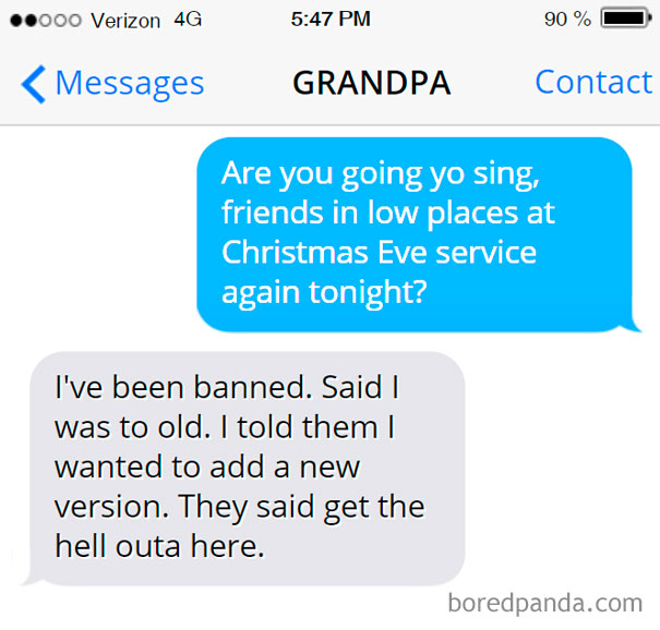 Banned From Singing At The Church