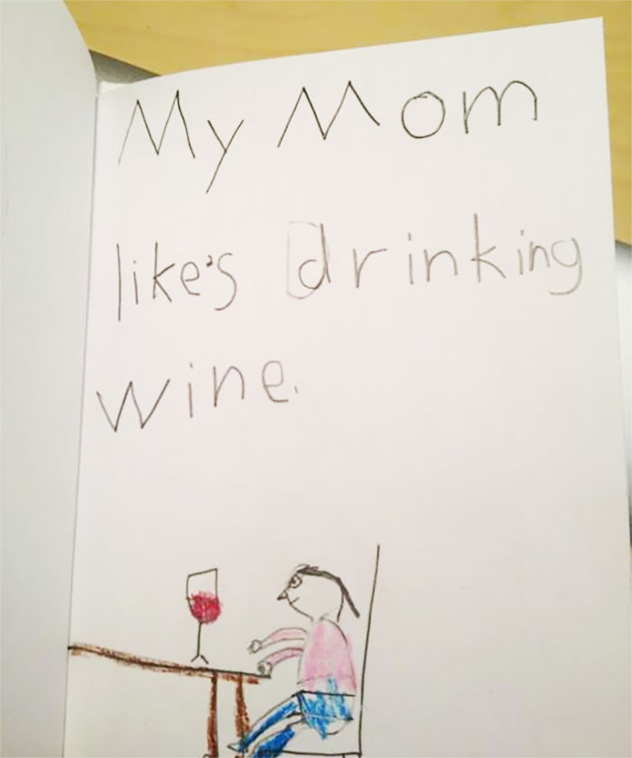 18 Times Kid Drawings Revealed Too Much About Their Parents