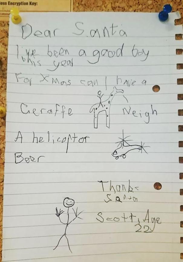 Wishlist To Santa