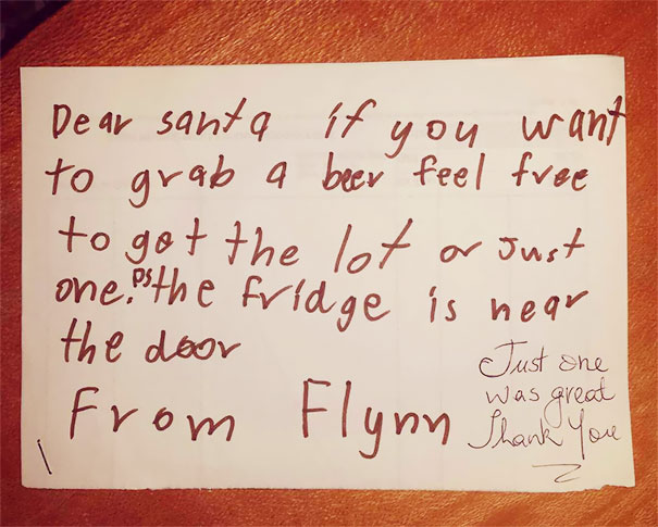 Nephew's Letter To Santa