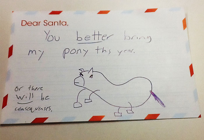 35+ Times Kids Totally Nailed Their Letter To Santa