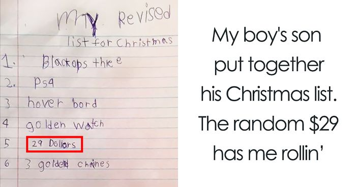 129 Times Kids Totally Nailed Their Letter To Santa | Bored Panda