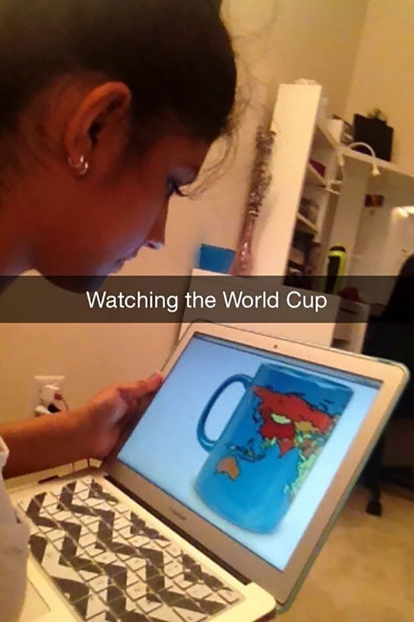 Watching The World Cup