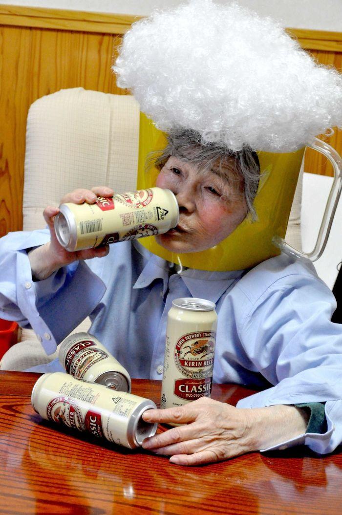Funny-Self-Portraits-Kimiko-Nishimoto-89-Year-Old