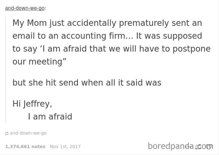 I Am Afraid