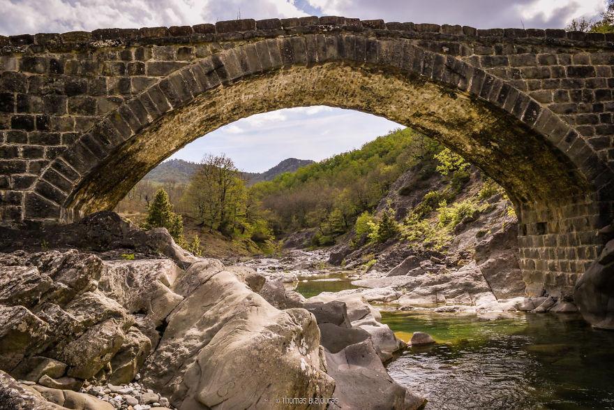 Γέφυρα Γαβού, Γρεβενά. Χτίστηκε πριν από το 1900
