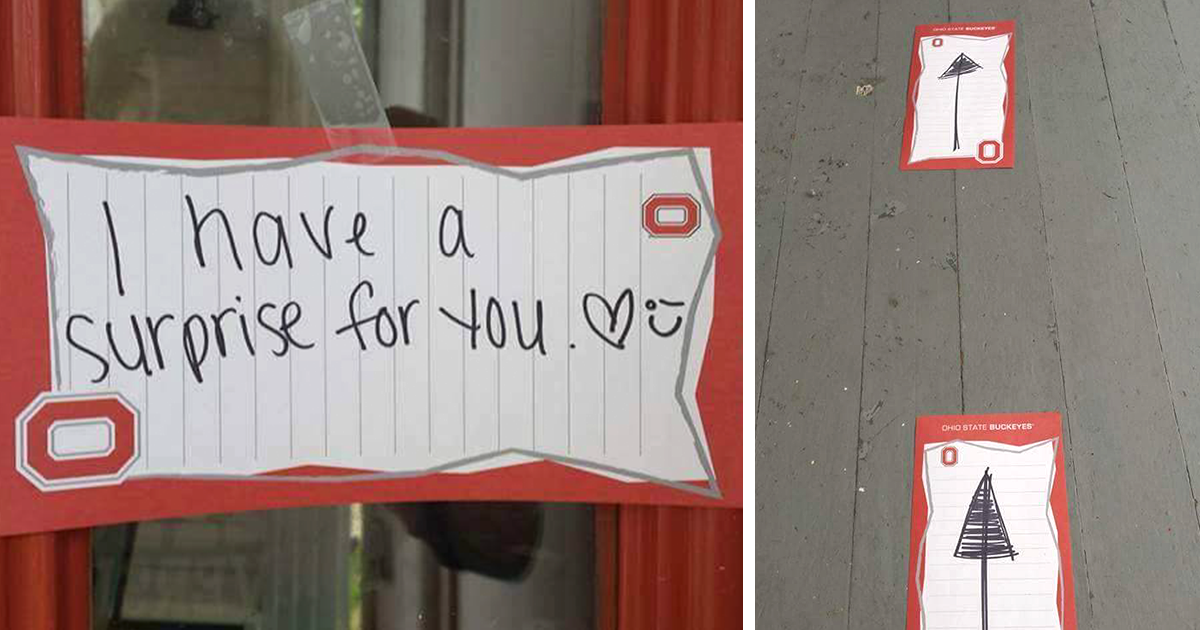 Woman Surprises Her Significant Other, And It Catches Him Completely Off Guard