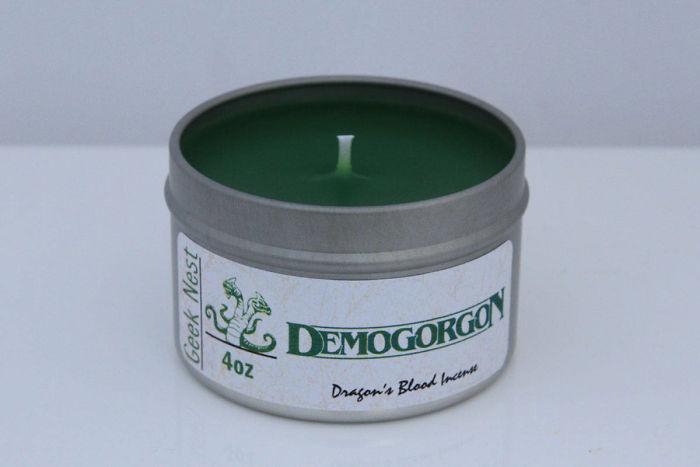 Demogorgon Candle