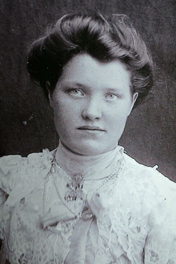 My Great Grandma In Her Confirmation Dress.. I'm Guessing Early 1900s
