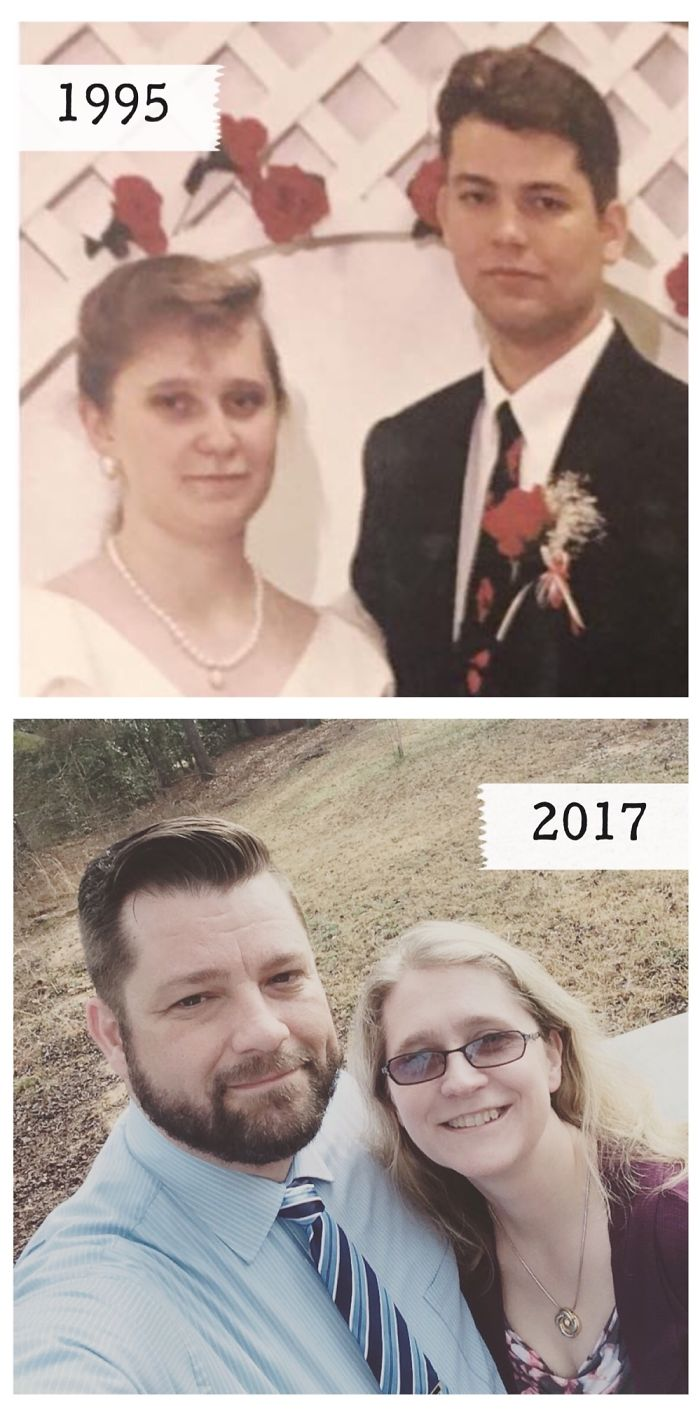 With The Love Of My Life – Our Wedding Day In 1995, Now. 23 Years And Going Strong!