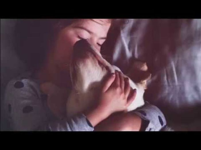 This Girl & Her Rescue Dog Are Best Friends